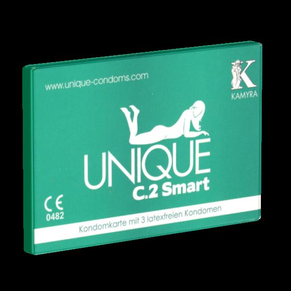 KAMYRA – Kondomgröße 60 – 3 Kondome, latexfrei
