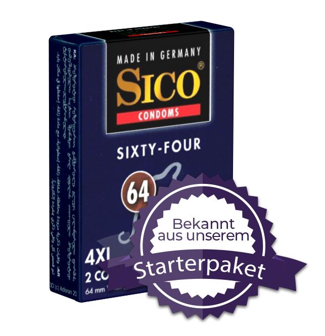 SICO - Kondomgröße 64 - 2 KONDOME | Kondome